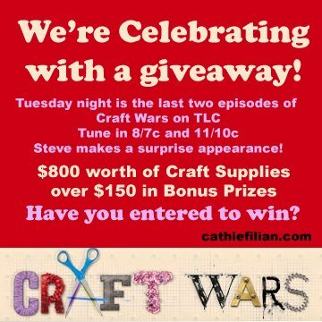 Craft Wars Season Finale Giveaway!