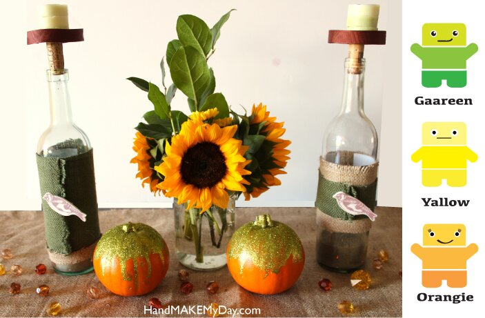 4 DIY Thanksgiving Crafts
