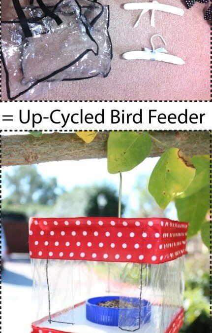 Up-Cycled Bird Feeder For The Destefani Family